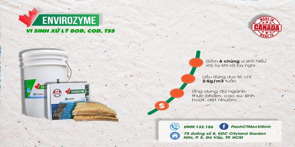 vi sinh envirozyme 2.0; envirozyme 2.0; vi sinh xử lý nước thải envirozyme 2.0