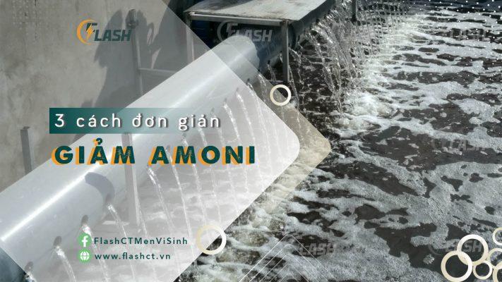 giải pháp xử lý Amoni