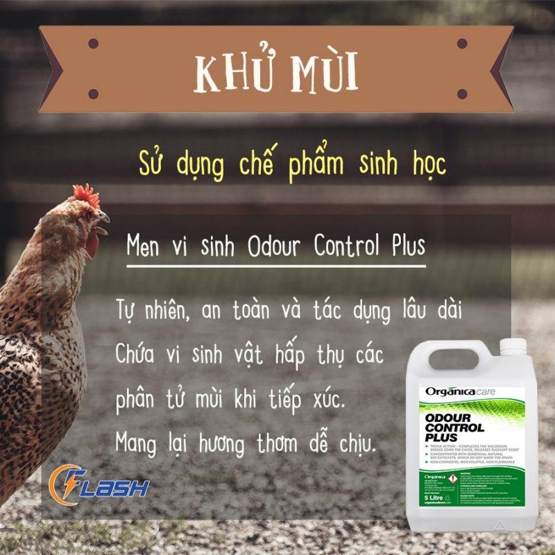 vi sinh khử mùi Odour Control Plus
