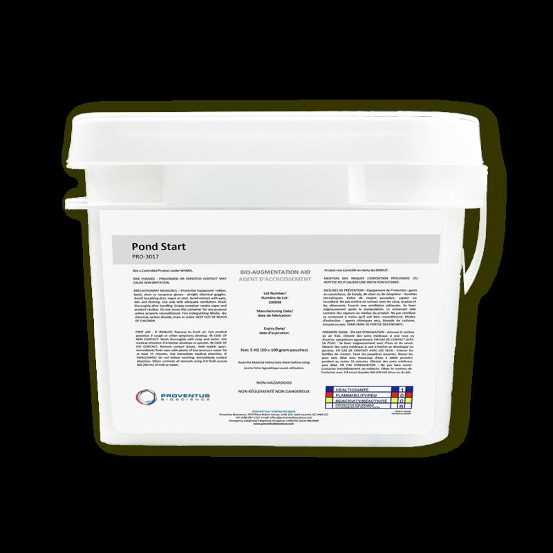 Vi sinh xử lý khí độc giảm Amoni NO2 Pond Start Proventus Bioscience