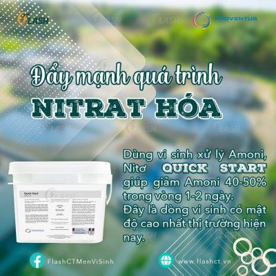 vi sinh nitrat hóa, vi sinh xử lý amoni và nitơ Quick Start