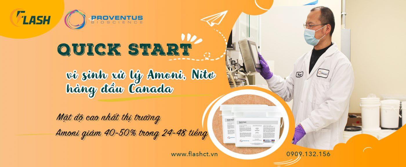 vi sinh xử lý amoni và nitơ quick start, vi sinh nitrat hóa Quick Start