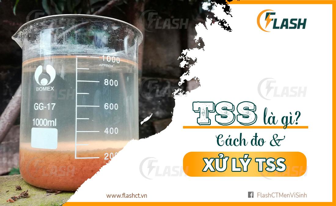 TSS là gì? Cách đo Tss và xử lý TSs nước thải